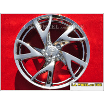 "Nissan 370Z OEM 19"" Set of 4 Chrome Wheels"