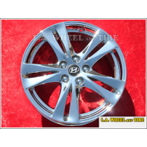 "Hyundai Sante Fe OEM 18"" Set of 4 Chrome Wheels"