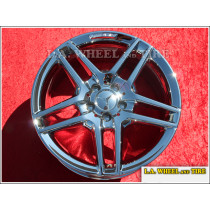 "Mercedes-Benz E-Class Sedan AMG OEM 18"" Set of 4 Chrome Wheels"