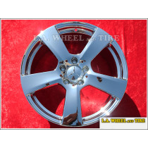 "Mercedes Benz E-Class Sedan OEM 18"" Set of 4 Chrome Wheels"