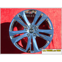 "Hyundai Genesis Coupe OEM 18"" Set of 4 Chrome Wheels"