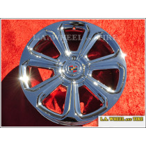 "Cadillac SRX OEM 20"" Set of 4 Chrome Wheels"