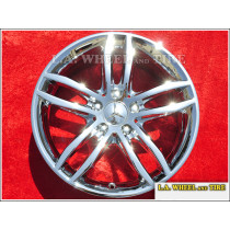 "Mercedes Benz C250 C300 C350 OEM 17"" Set of 4 Chrome Wheels"