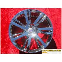 "Volvo S60 / 60 Series Sleipner OEM 18"" Set of 4 Chrome Wheels"