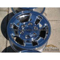 "Toyota 4Runner / Tacoma OEM 15"" Set of 4 Chrome Wheels"
