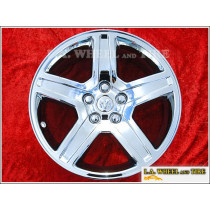 "Dodge Charger / Magnum OEM 18"" Set of 4 Chrome Wheels 2326"