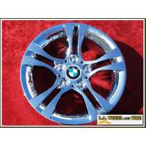 "BMW 3-Series Style 268 OEM 16"" Set of 4 Chrome Wheels 71242"