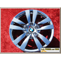 "BMW 3-series Sport Style 161 OEM 17"" Set of 4 Chrome Wheels 59584"