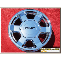 "GMC Sierra 1500 / Yukon OEM 17"" Set of 4 Chrome Wheels 5193"