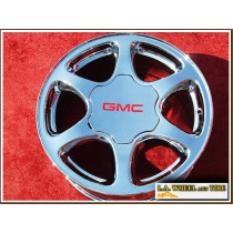 "GMC Sierra 1500 / Yukon Denali OEM 17"" Set of 4 Chrome Wheels 5126"