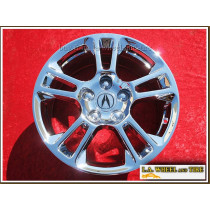 "Acura TL OEM 17"" Set of 4 Chrome Wheels"