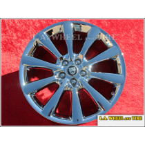 "Jaguar XK Artura OEM 19"" Set of 4 Chrome Wheels"