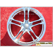 "Audi R8 OEM Forged 19"" Set of 4 Chrome Wheels 58829"
