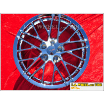 "Chevrolet Corvette ZR-1 OEM 19"" / 20"" Set of 4 Chrome Wheels"