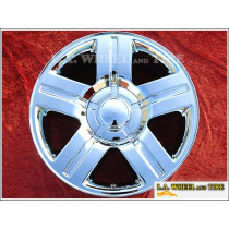 "Chevrolet Silverado / Avalanche / Suburban 1500 OEM 20"" Set of 4 Chrome Wheels"