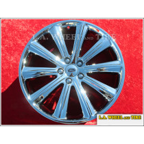 "Ford Flex OEM 20"" Set of 4 Chrome Wheels"