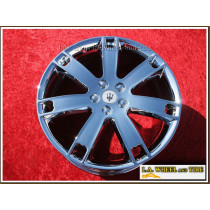 "Maserati Quattroporte GT OEM 20"" Set of 4 Chrome Wheels"