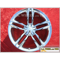"Audi S5 / A5 OEM 19"" Set of 4 Chrome Wheels"