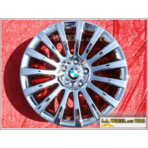 "BMW 5 / 7-Series Style 235 OEM 19"" Set of 4 Chrome Wheels"