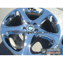 "BMW X5 4.6iS Style 87 OEM 20"" Set of 4 Chrome Wheels 59376"