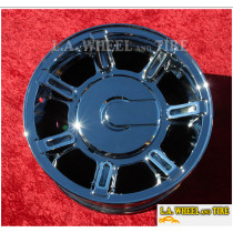 "Hummer H2 OEM 17"" Set of 4 Chrome Wheels 6300 EXCHANGE"