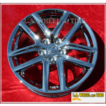 "Lexus IS250 / IS350 OEM 18"" Set of 4 Chrome Wheels 74292"