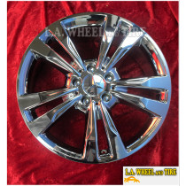 "Mercedes Benz E350 Coupe OEM 18"" Set of 4 Chrome Wheels EXCHANGE 85459 85460"