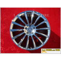"Mercedes-Benz S550 AMG OEM 20"" Set of 4 Chrome Wheels 85353"