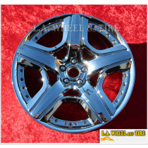 """Bentley Continental Mulliner OEM Forged 21"""" Set of 4 Chrome Wheels NH1427"""