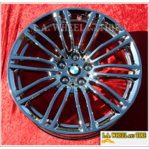 "BMW 530i 540i M550i Style 664 OEM 19"" Set of 4 Chrome Wheels 86328 86332"