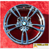 "BMW 3-Series 4 -Series Style 441 OEM 18"" Set of 4 Chrome Wheels 86009"