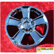 "Toyota Tundra OEM 18"" Set of 4 Chrome Wheels 75156"