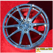 """Mercedes Benz AMG S Class OEM 20"""" S450 S560 S650 Maybach Set Of 4 Chrome Wheels 85595 85596"""