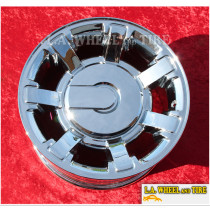 "Hummer H2 OEM 17"" Set of 4 Chrome Wheels 6309 EXCHANGE"