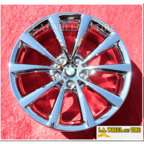 "BMW 640i GT Style 642 OEM 18"" Set of 4 Chrome Wheels 86272"