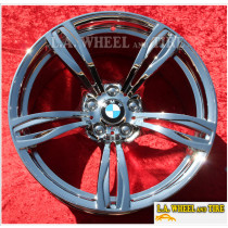 "BMW M6 Style 343 OEM 20"" Set of 4 Chrome Wheels 71577 71578 EXCHANGE"