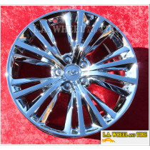 "Infiniti Q60 19"" Set of 4 NEW CHROME Factory OEM Wheel Rim 73793"