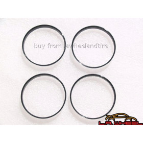 BMW Hubcentric Hub Rings Set of 4