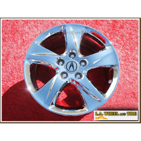 "Acura TSX OEM 17"" Set of 4 Chrome Wheels 71781"