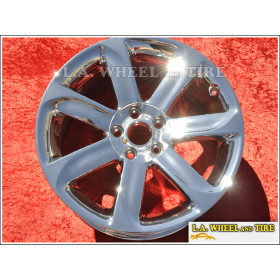 "Audi TT OEM 18"" Set of 4 Chrome Wheels 58819 EXCHANGE"