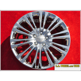 "Chrysler 300 AWD OEM 19"" Set of 4 Chrome Wheels 2419 EXCHANGE"
