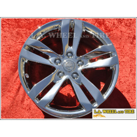 "Nissan Altima OEM 17"" Set of 4 Chrome Wheels 62552"