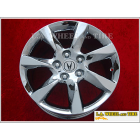 "Acura TL OEM 17"" Set of 4 Chrome Wheels 71801 EXCHANGE"