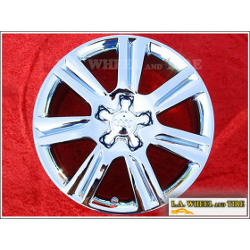 "Audi A4 OEM 17"" Set of 4 Chrome Wheels 58836 EXCHANGE"