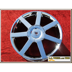 "Cadillac XLR OEM 18"" Set of 4 Chrome Wheels 4576 EXCHANGE"