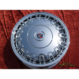 "Cadillac Deville / Seville OEM 16"" Set of 4 Chrome Wheels 4507 EXCHANGE"