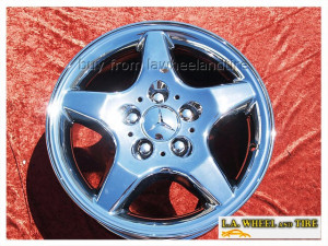 "Mercedes-Benz ML320 / ML430 OEM 16"" Set of 4 Chrome Wheels"