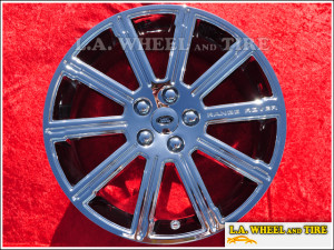 "Land Rover Range Rover Sport OEM 20"" Set of 4 Chrome Wheels"