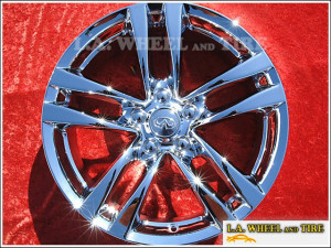 "Infiniti G37 Coupe / Convertible RWD OEM 18"" Set of 4 Chrome Wheels"