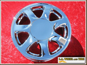 "Lexus SC400 OEM 16"" Set of 4 Chrome Wheels"